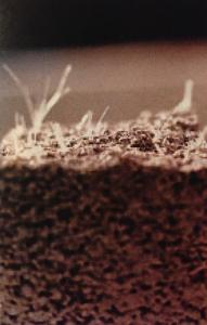 Refuerzo de hormigón fibras acrílicas