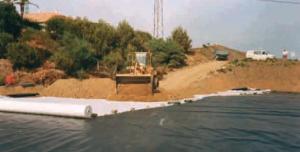 Geotextiles impermeabilización