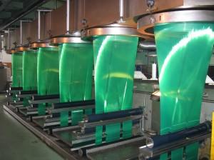 geotextil tintado color verde