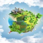 Infografia planeta tierra