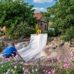 Geotextil para sistemas de drenaje
